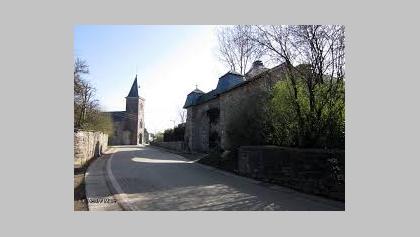Commanster kerk en kasteel