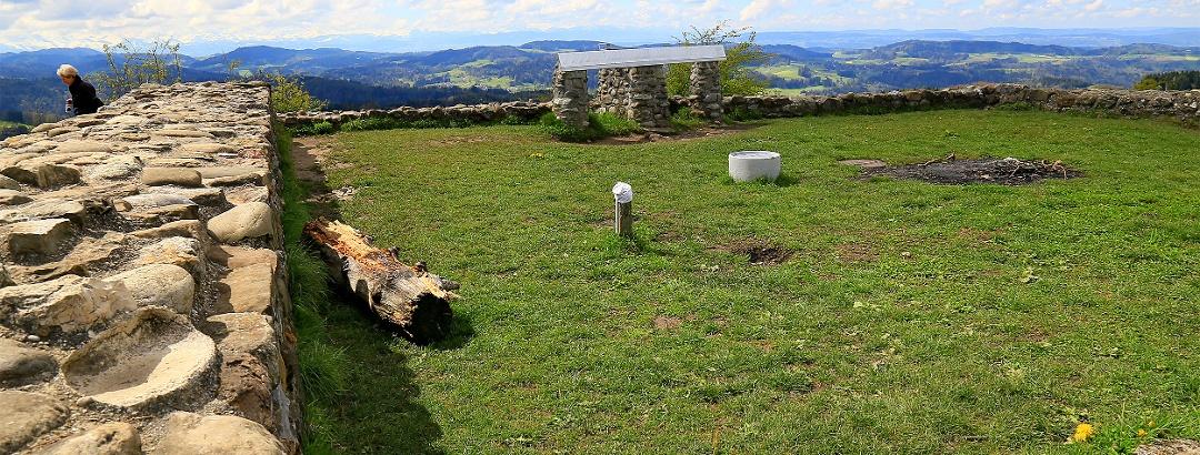 Ruine auf dem Schauenberg.