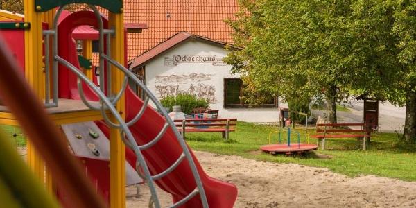 Ochsenhaus auf dem Traufgang Ochsenbergtour