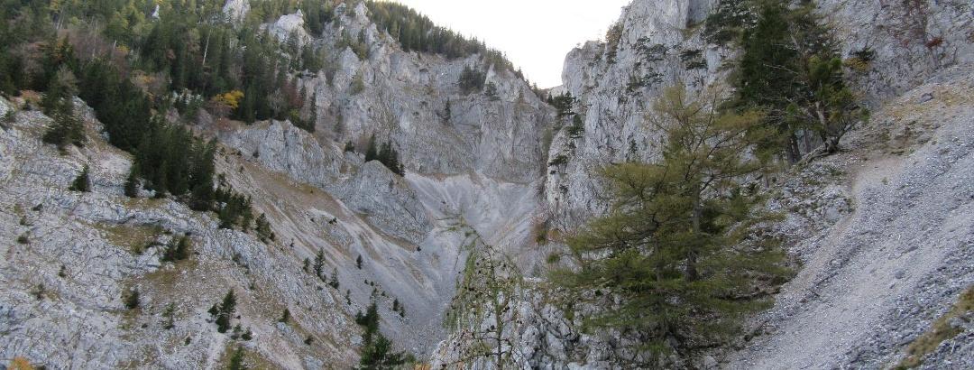 Blick in den Lahngraben