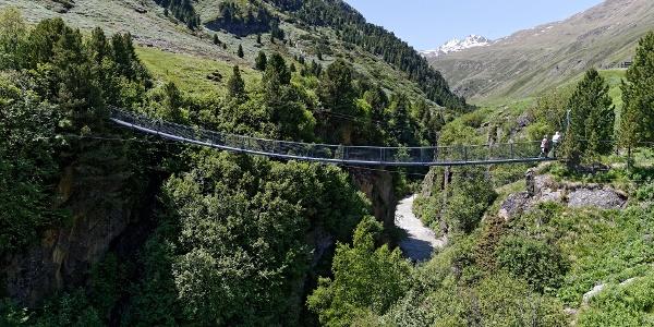 Hängenbrücke Rofen