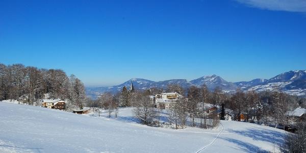 Blick auf Bad Dürrnberg