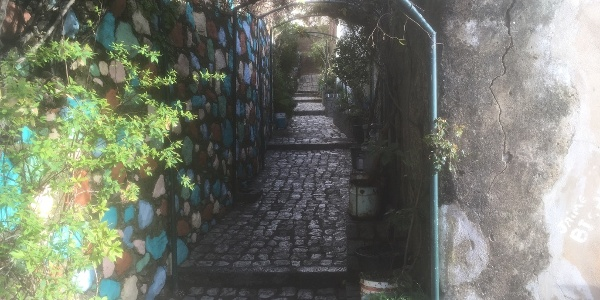 Painted alley out of Monchique.