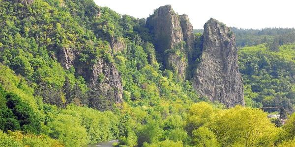 Blick auf Rheingrafenstein