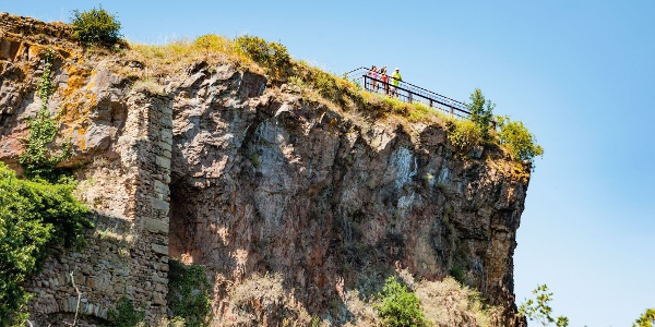 Aussischtspunkt Ruine Rheingrafenstein