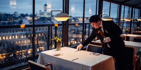 Restaurant Savoy, designed by Alvar Aalto
