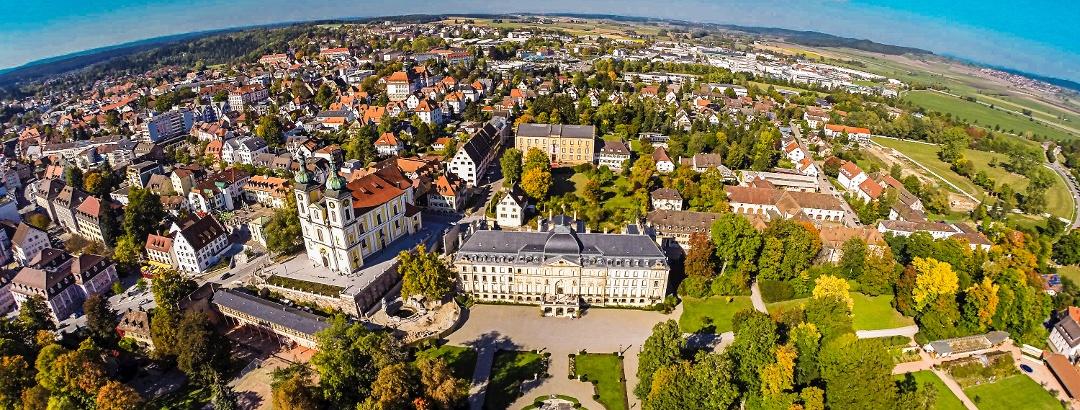 Luftbild von Donaueschingen