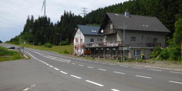 Blick von der Haltestelle Ri. Eisenerz