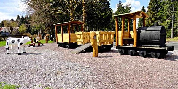 Spielplatz an der Laurabahn - Frauenwald