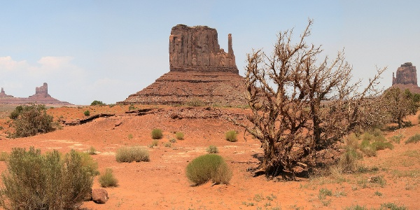 West Mitten Butte im Monument Valley
