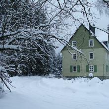 Winter an der Sepp-Ruf-Hütte