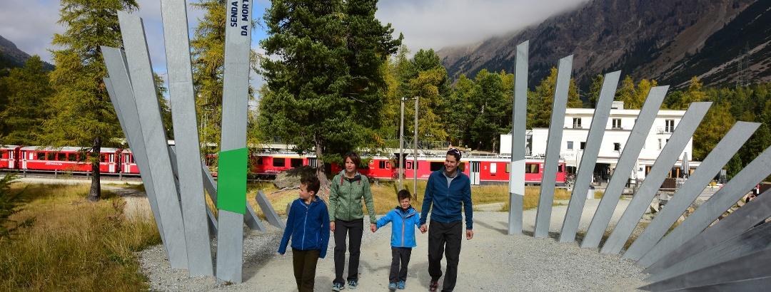 glacier trail Morteratsch
