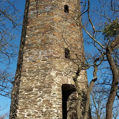 Beliebter Aussichtsturm auf dem Krausberg.