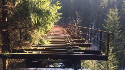 Alte bahnbrücke