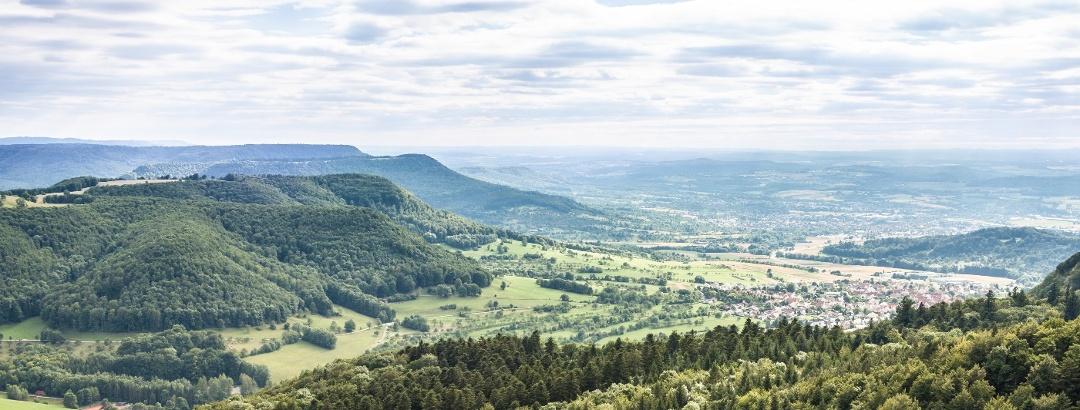 Ausblick vom Rossberg