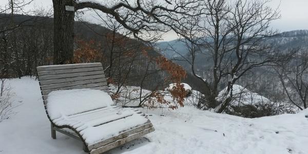 Kunstmühlefels: Aussichts- und Ruheplatz