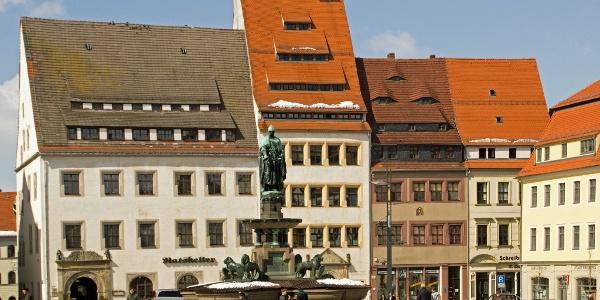Historic centre of Freiberg - Upper market