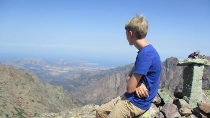 Der  Gipfel des A Muvrella