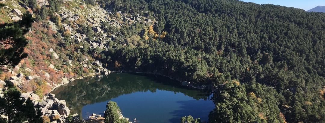Laguna Negra von oben