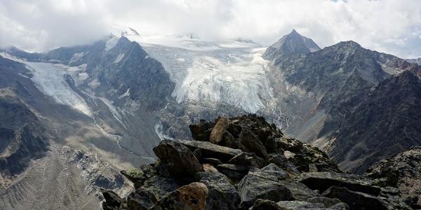 Großen Trögler mit Freiger-Gletscher