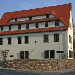 Bergbaulandschaft Goldbachtal / Einigkeit Fundgrube - Huthaus