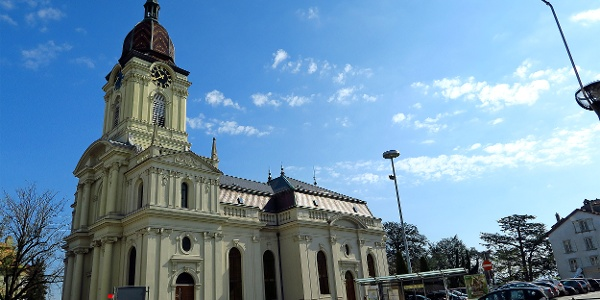 Kirche in Morges.