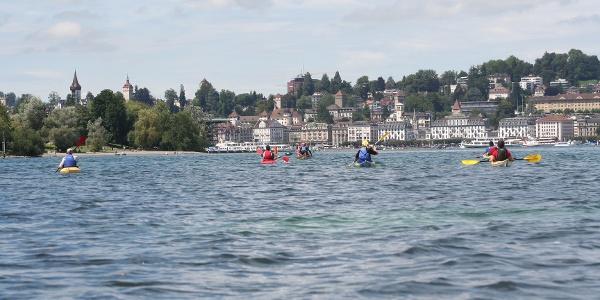 Kanuroute Horw-Luzern