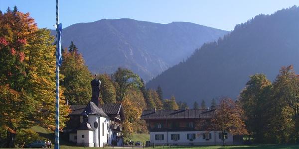 Kapelle zum heiligen Kreuz in Bad Kreuth