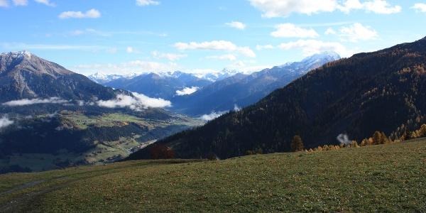 Etappe 6: Blick ins Albulatal