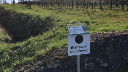 Start Dolinenweg