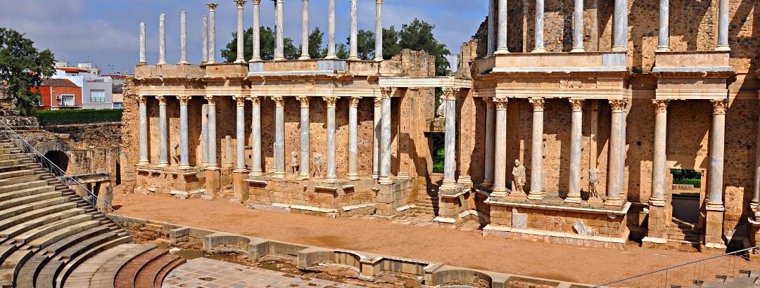 Das römische Theater in Mérida