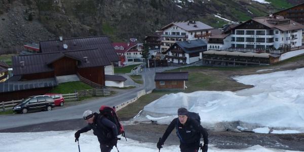 Start in Obergurgl
