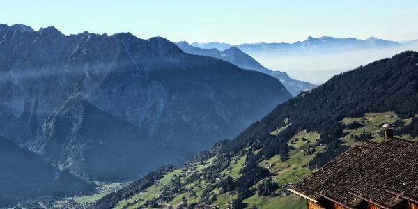 Panorama Wanderung Sebligasee