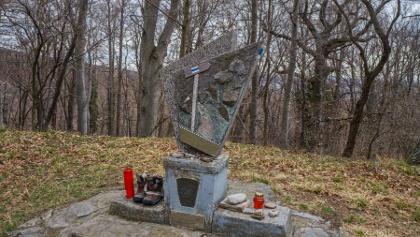 Az emlékmű 1989-ig jelölte az OKT végpontját