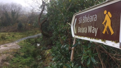 Start of Beara Way from Adrigole