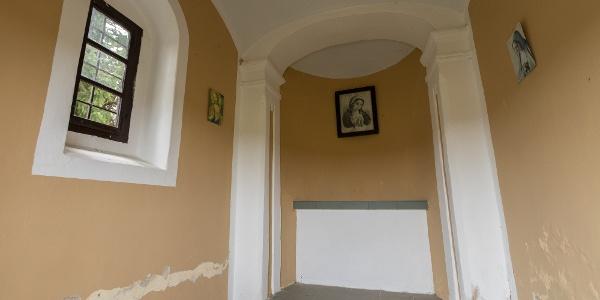 A Belovich-kápolna belseje