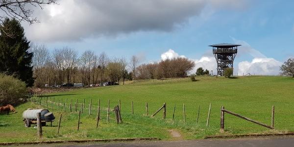 Aussichtsturm Eifelblicke auf dem Mühlenberg
