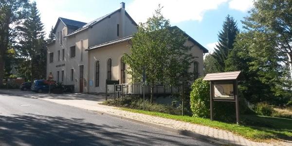 Parkplatz am Haus des Gastes Schnarrtanne, Ortslage Vogelsgrün