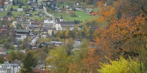 Tschaggunsblick Herbst