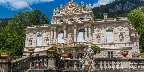 Schloss Und Park Linderhof Schloss Outdooractive Com