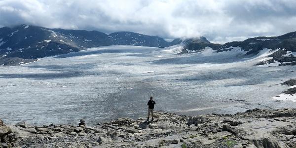 Plaine-Morte-Gletscher.