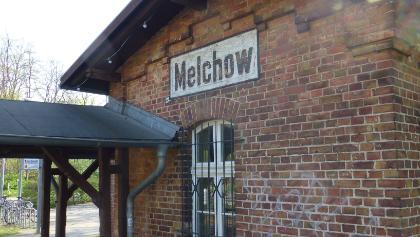Start der Tour in Melchow