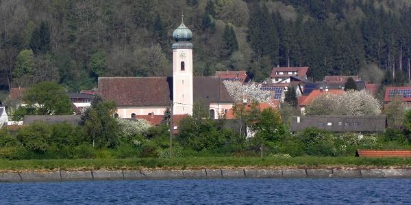 Blick über den Rhein nach Dogern