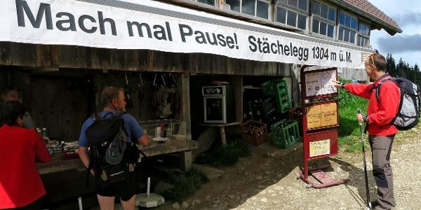Alpwirtschaft Stächelegg.