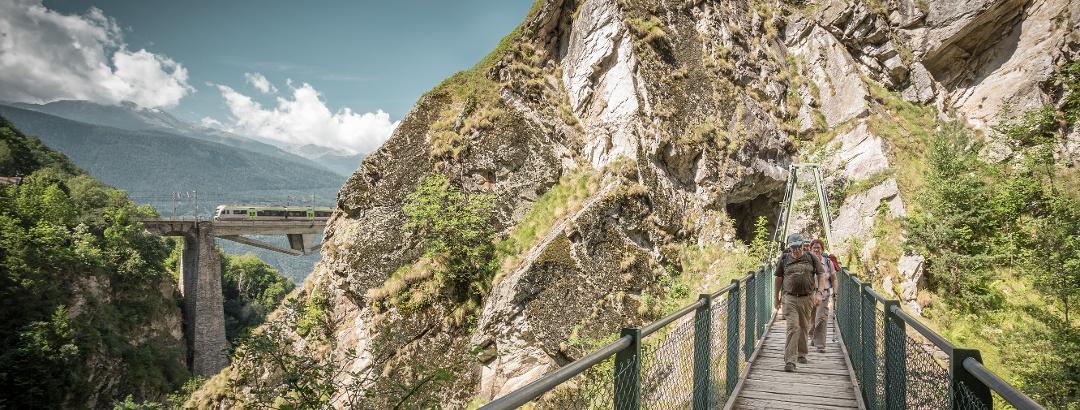 Lötschberger railway trail