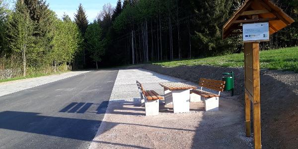 """Wanderparkplatz """"Schöne Aussicht"""" Schnarrtanne"""