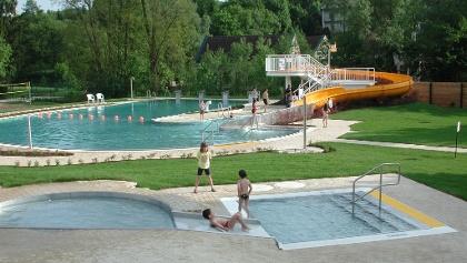 Freibad und Kinderbecken