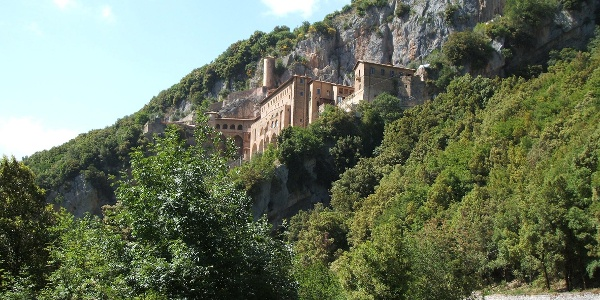 Subiaco, Kloster San Benedetto