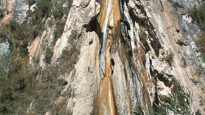 Cascada de los Arboles Petrificados