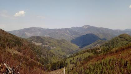 Blick vom Stadelbergkamm Richtung Reisalpe